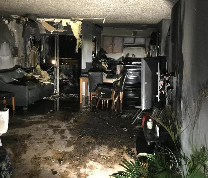Fire Damage Studio City/Valley Village Smoke and Soot Cleanup